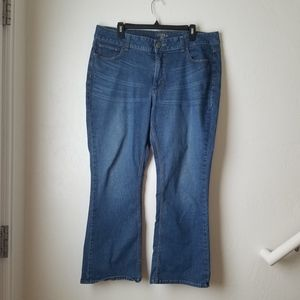 Riders by Lee Light wash Bootcut jeans